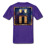Mayan Solar Seals Archetype BEN T-Shirt - purple