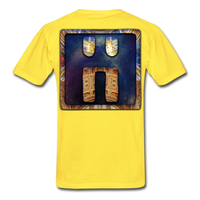 Mayan Solar Seals Archetype BEN T-Shirt - yellow