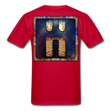 Mayan Solar Seals Archetype BEN T-Shirt - red