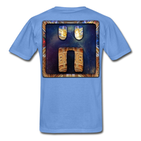 Mayan Solar Seals Archetype BEN T-Shirt - carolina blue