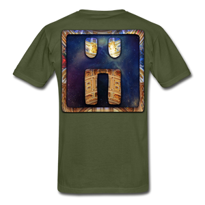 Mayan Solar Seals Archetype BEN T-Shirt - military green
