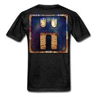 Mayan Solar Seals Archetype BEN T-Shirt - charcoal gray