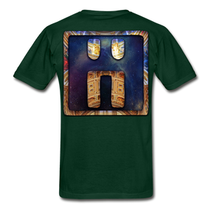 Mayan Solar Seals Archetype BEN T-Shirt - forest green