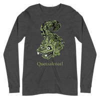 Mayan Gods Quetzalcoatl Feathered Serpent Bella + Canvas Long Sleeve Shirt