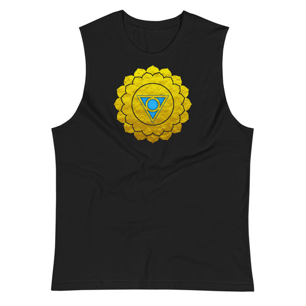 Throat Chakra Muscle Shirt