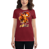 Aries Ram Elemental Fire Sign Fashion Fit T-Shirt
