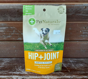 Pet Naturals of Vermont Hip + Joint Chews – 60 count