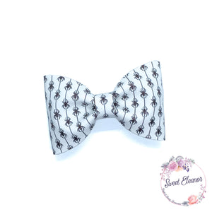 Along Came a Spider Bow Tie