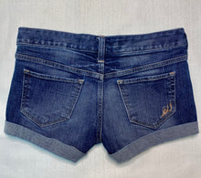 Load image into Gallery viewer, Express Size 0 Medium Wash Jean Shorts