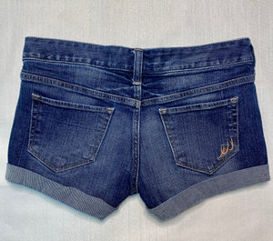 Express Size 0 Medium Wash Jean Shorts