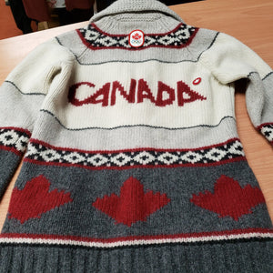HUDSON'S BAY OLYMPIC TEAM CANADA SWEATER JACKET