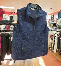Load image into Gallery viewer, Alia Petite Size 12 Navy Vest-50%off!