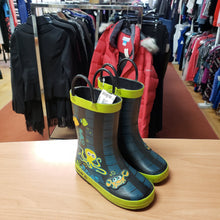 Load image into Gallery viewer, Kamik Size 8 BLUE/GREEN RUBBER Boots