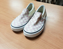 Load image into Gallery viewer, Girls Vans Size 4 Shoes