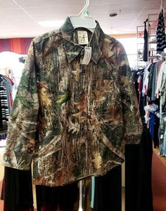 Red Head Size 8 Camo Long sleeve Shirt