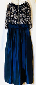 JESSICA HOWARD Size 16W Blue Gown