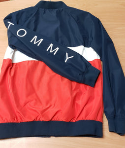 Boy's Tommy Hilfiger Colourblock Track Jacket