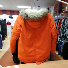 Load image into Gallery viewer, Old Navy Size 8 Orange Hooded Winter Jacket