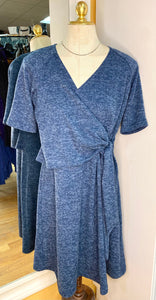 Palette by Laura-Jean Size S Blue Casual Dress