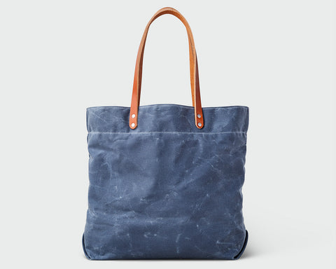 Russell Tote - Slate/Tan