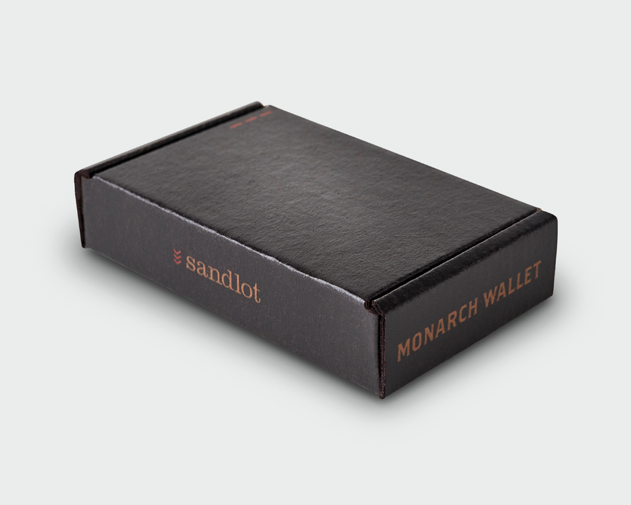 The Monarch - Black Wallet