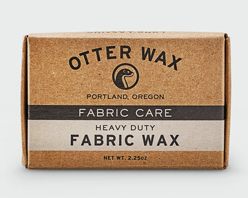 Otter Wax regular bar of fabric wax