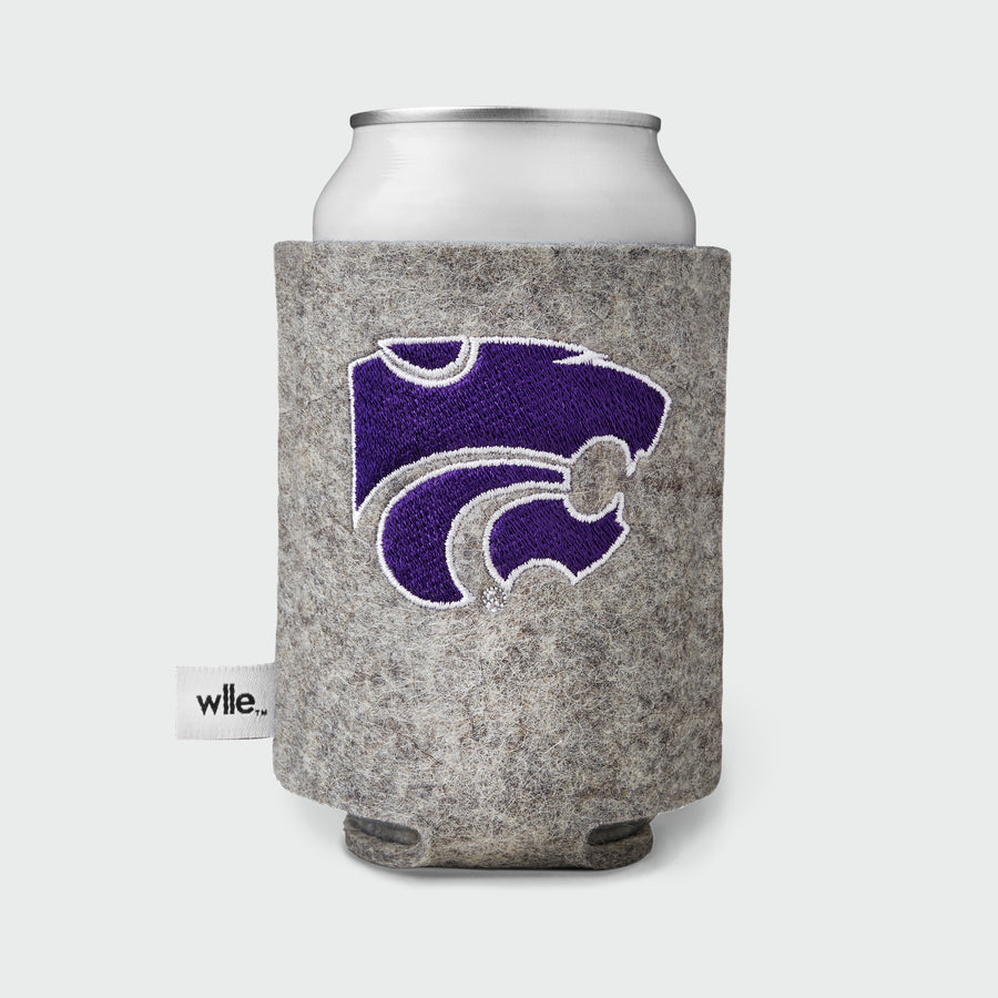 Kansas State University wlle™ Drink Sweater - Power Cat - Granite