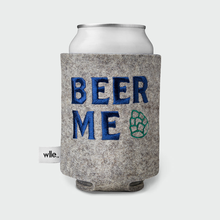 wlle™ Drink Sweater - Beer Me - Granite