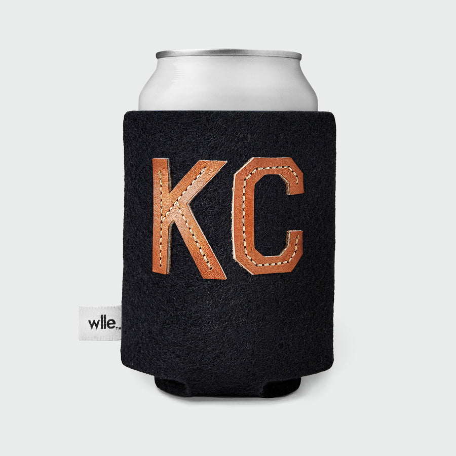 wlle™ Drink Sweater - Leather KC - Black
