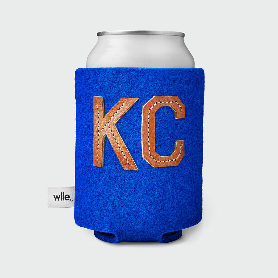 wlle™ Drink Sweater - Leather KC - Electric Blue