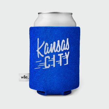 wlle™ Drink Sweater - Kansas City Flyer - Electric Blue