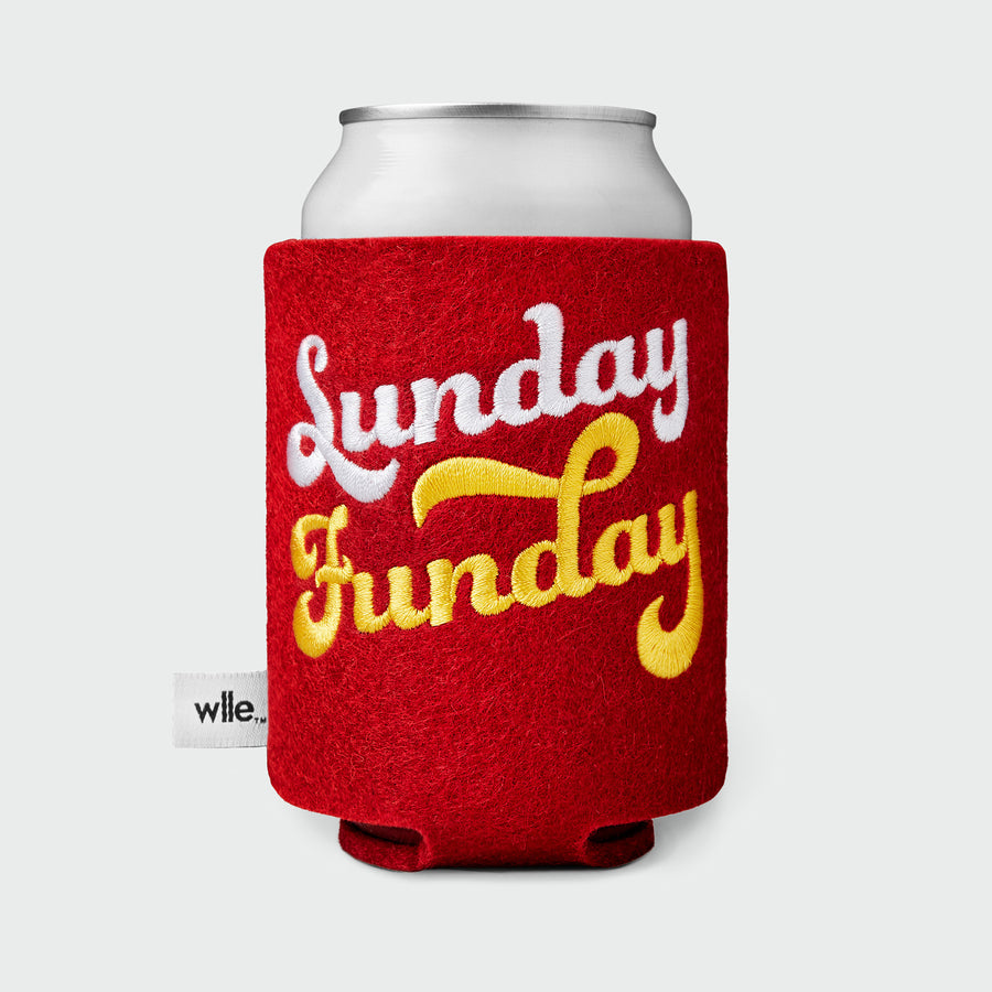wlle™ Drink Sweater - Sunday Funday - Cherry Red, White and Gold