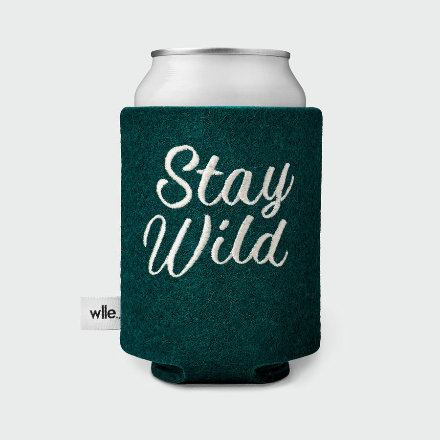wlle™ Drink Sweater - Stay Wild - Hunter Green