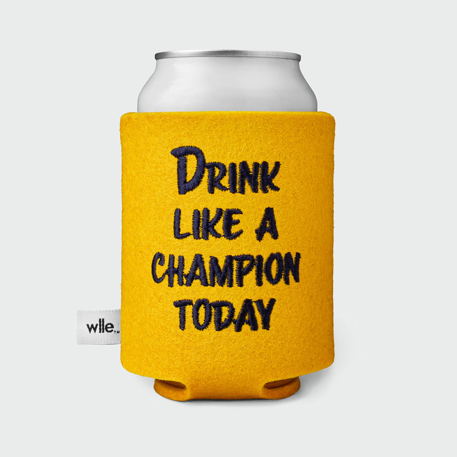 wlle™ Drink Sweater - Drink Like A Champion Today - Gold