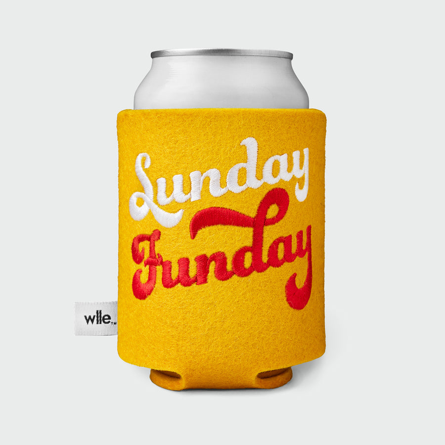 wlle™ Drink Sweater - Sunday Funday - Gold, White and Red