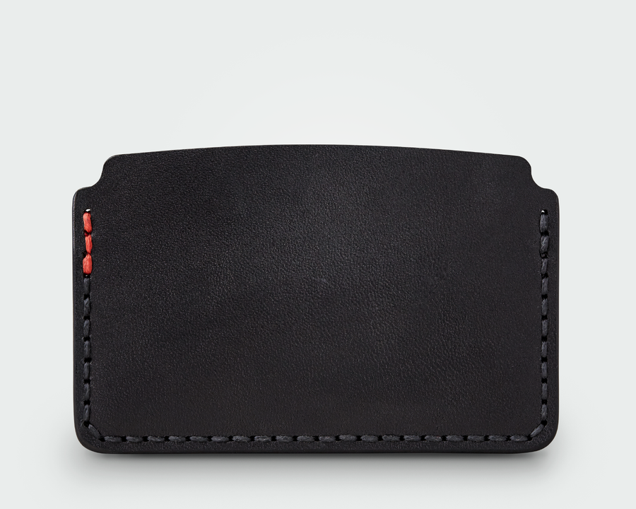 The Slim Card Holder - Black