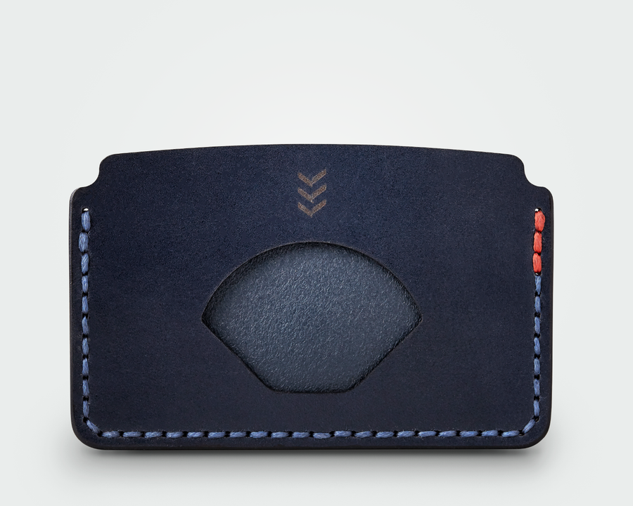 The Slim Card Holder - Navy