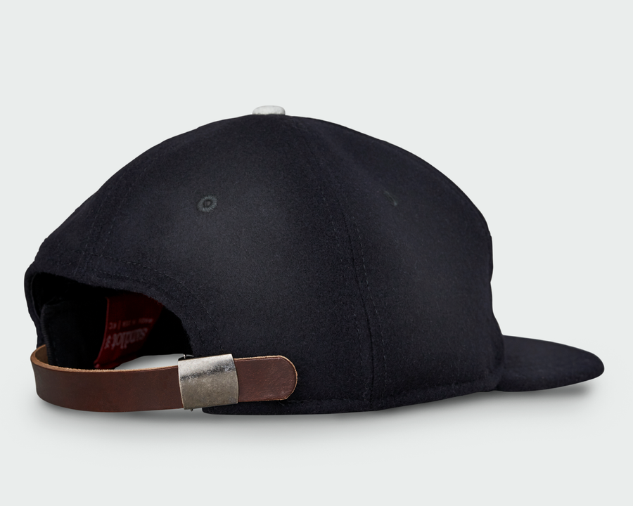 Midnight Vintage Flatbill Hat - Solid