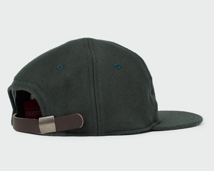 Spruce Green Vintage Flatbill Hat - Pickle