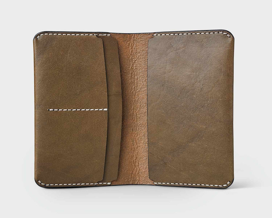 Pocket Journal Cover - Olive
