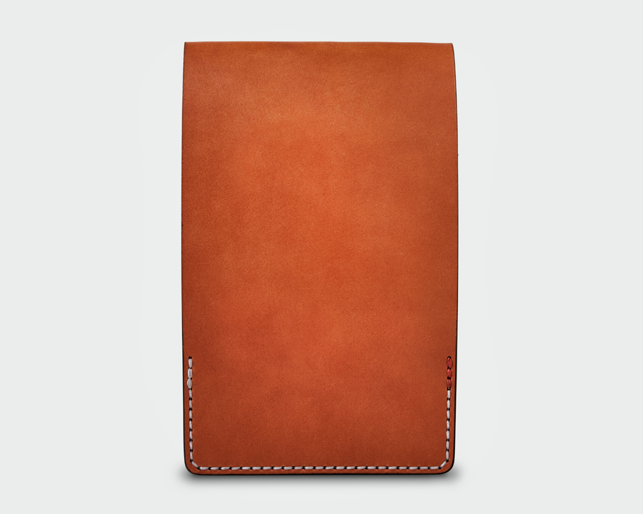 Leather Yardage Book Cover - Tan