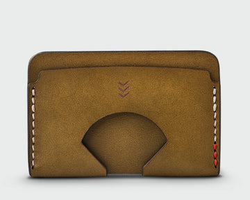 The Monarch - Olive Wallet