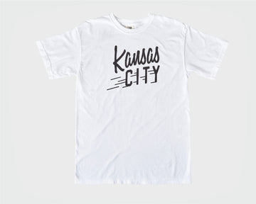 Kansas City Flyer Tee - White