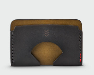 Monarch Wallet - Olive and Black