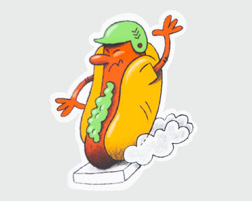 Sandlot Relish Dog Sticker