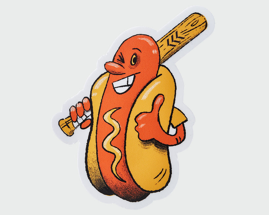 Sandlot Mustard Dog Sticker