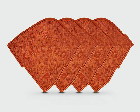 Ballpark Coaster (Set of 4) - Chicago NL
