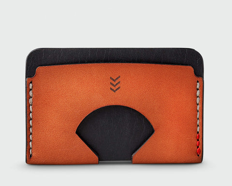 Monarch Wallet - Black and Tan