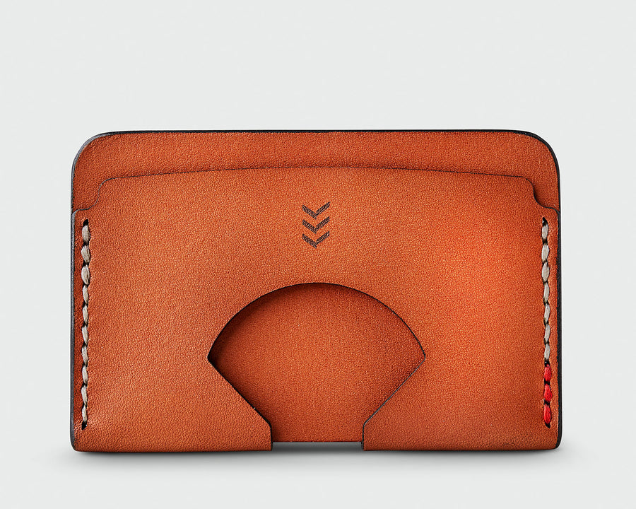 Sandlot Goods Monarch leather wallet in tan
