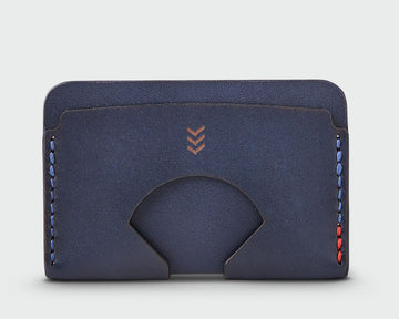 The Monarch - Navy Wallet